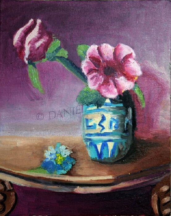 Porcelain Jug, 2021, 20cm x 25.5cm, oil