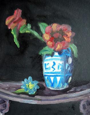 Porcelain Jug, 8in x 10in, oil on board