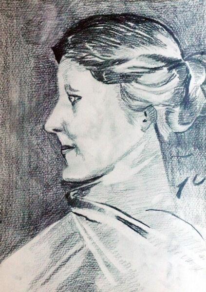 Sargent 04, 20cm x 29cm, charcoal pencil
