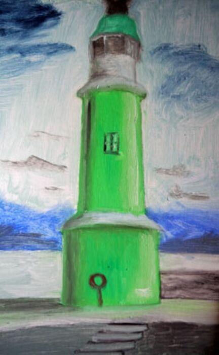 Scandinavian Light, 25.5cm x 40.5cm, oil