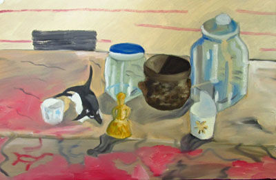 Spanish Still-Life, 15in x 22in, oil on arches paper