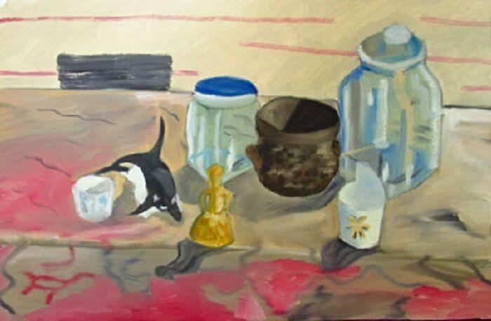 Spanish Still-Life, 38cm x 56cm, oil