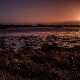 1028-Boora Lake February sunrise