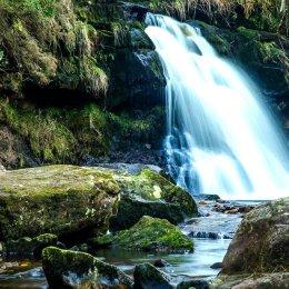 1040-Glenbarrow Waterfall winter Laois2