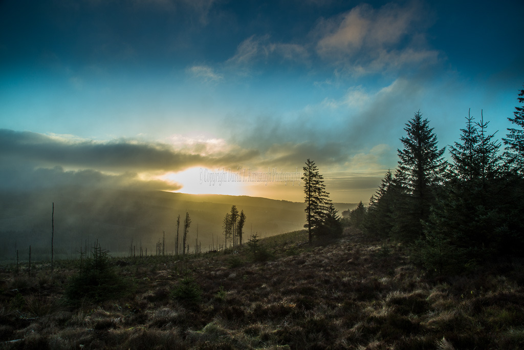 1046-Misty sunrise over Baunreagh Valley Killanure Laois