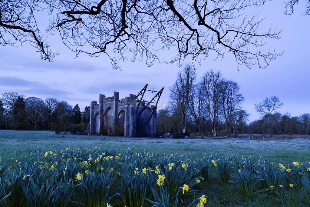 1187-Great Telescope Blue Dawn Birr Castle Demesne