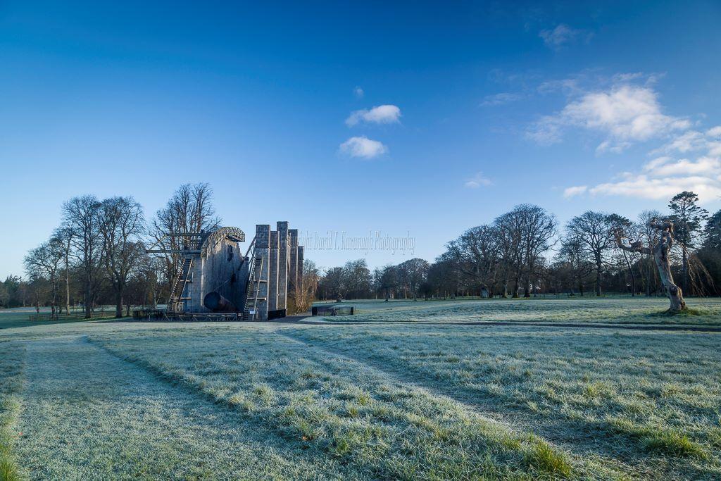 1189-Great Telescope Frosty Morning Birr Castle Demesne