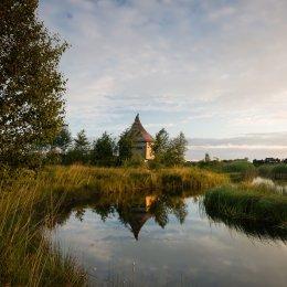 1249-Tumduff Beag Bird Hide July Dawn