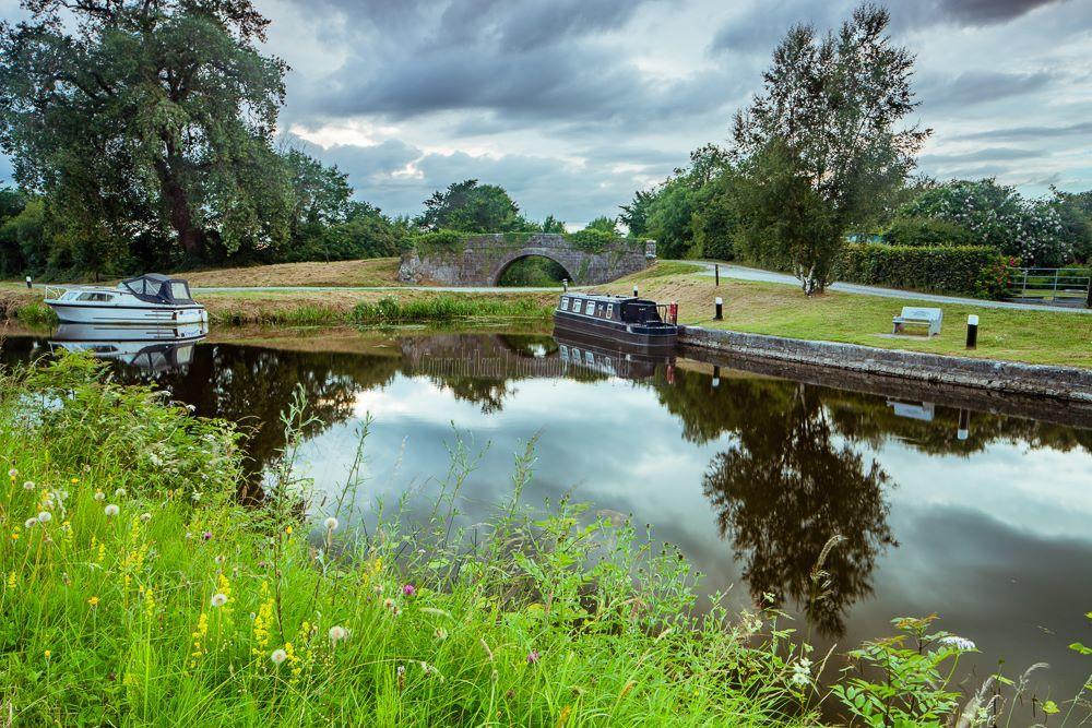 1258-Campbell Bridge July Evening Ballycommon