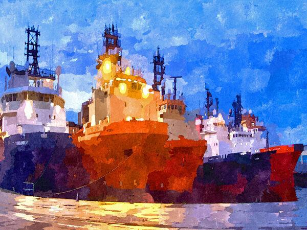 32 Aberdeen Docks