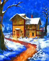 A58 - Winter's Night