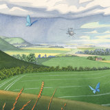 Force of Nature detail: Chalk hill blue and apache
