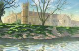 Lacock Abbey 6 hour painting