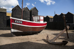 Fishing boat, Hastings, East Sussex