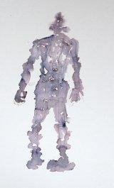 Articulated figure/Golem/ awaking.