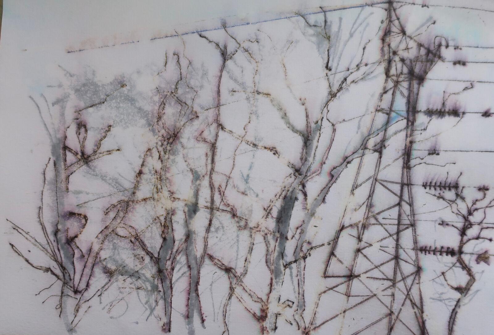 Trees & Pylon