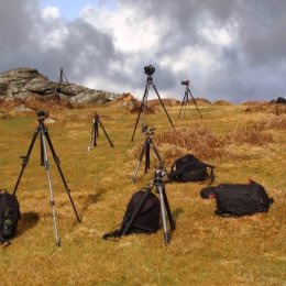 2018 David Clapp Crse 2 Tripods on Dartmoor by David Marlow - IMG 0054
