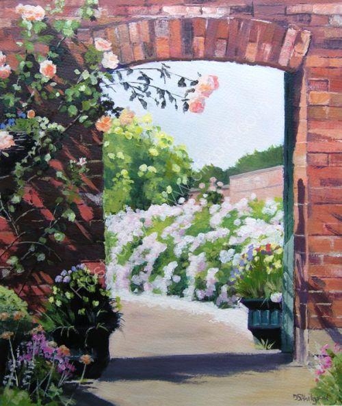 Archway, Elford Hall Gardens