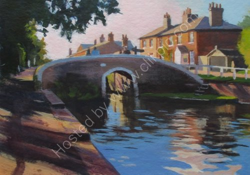 Fradley Junction Reflections
