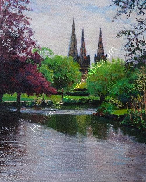 Lichfield Cathedral Reflections