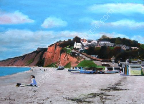 On the Beach, Budleigh Salterton