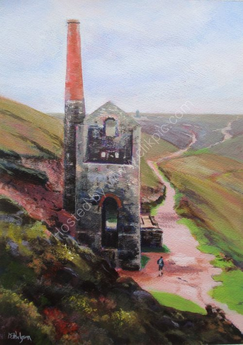 Poldark Mine, North Cornwall