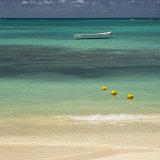 White boat, Mauritius