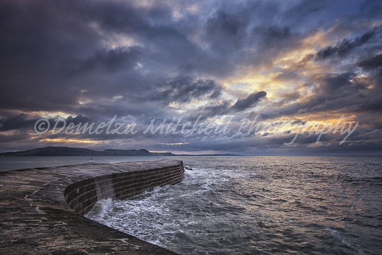 The Cobb, Lyme Regis - Dawn