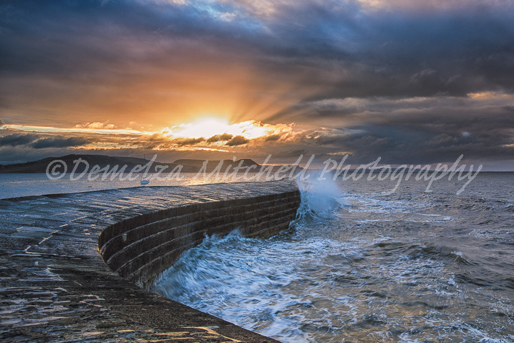 The Cobb, Lyme Regis - Daybreak