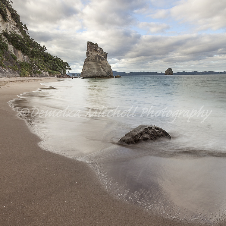 Late evening - Cathedral Cove