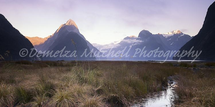 Milford Sound, Dawn