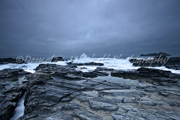 Incoming Tide - Godrevy