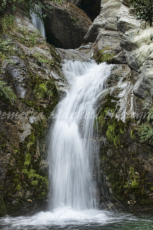 Lake side waterfall, Lake Wakatipu