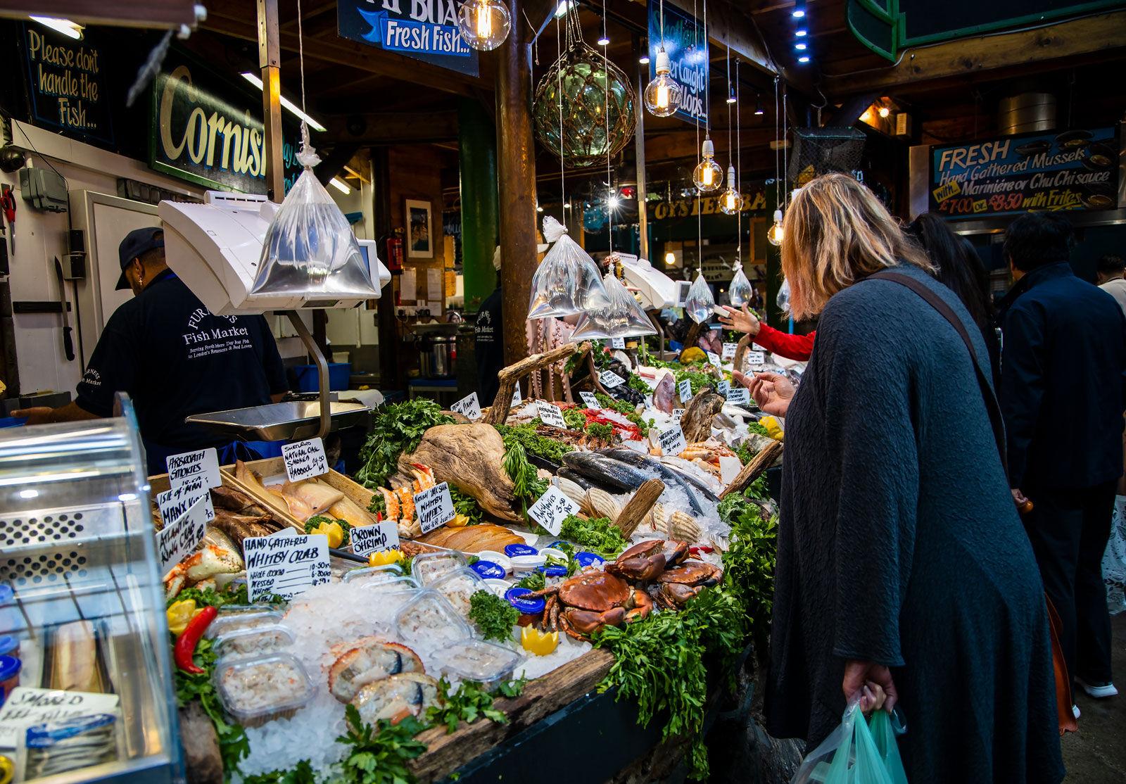 Borough Market Stall