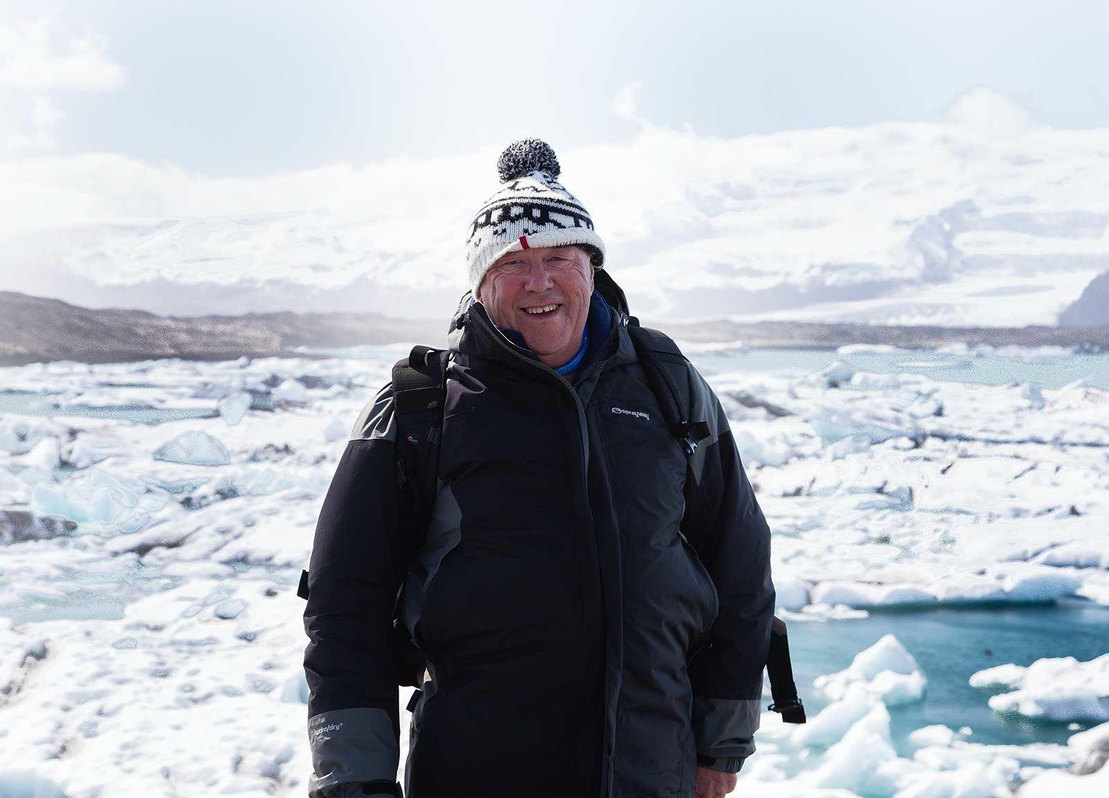 Derek in Iceland
