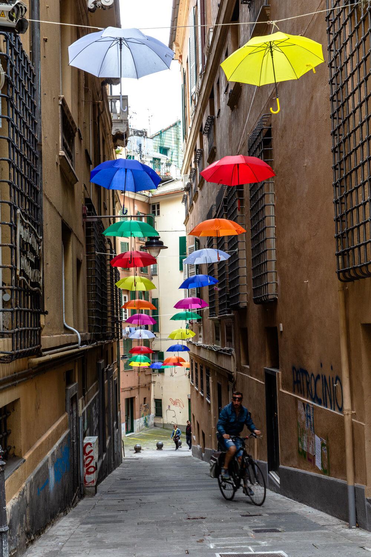 Genoa Colourful Via