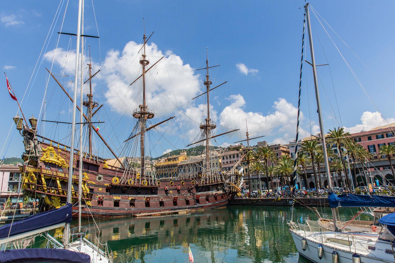 Genoa The Lively Port