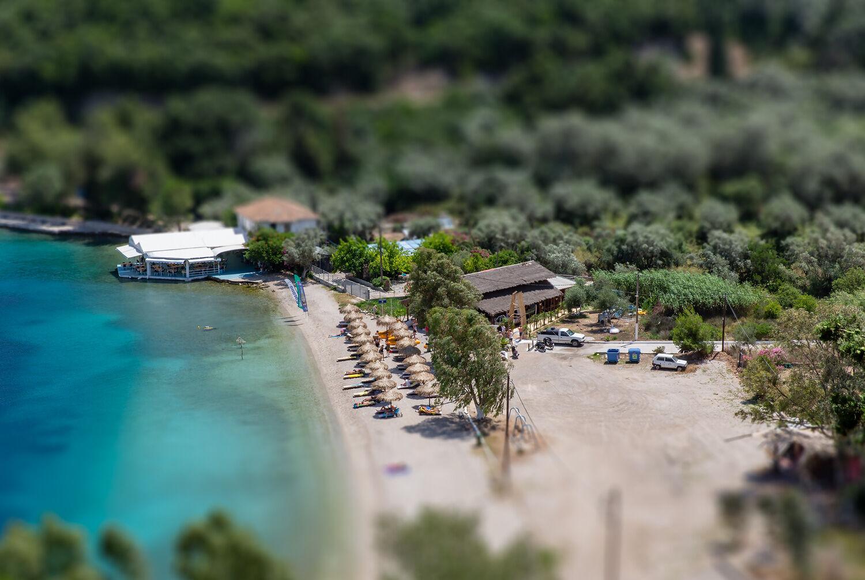 Meganisi Spartahori Beach-Greece