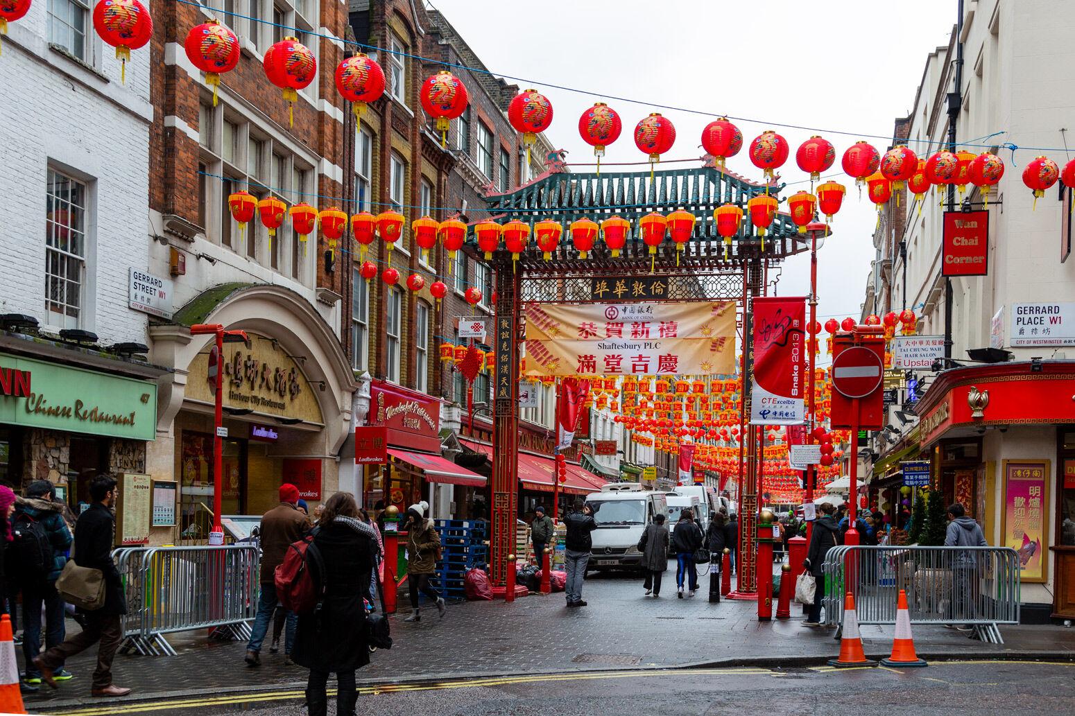 New Year China Town