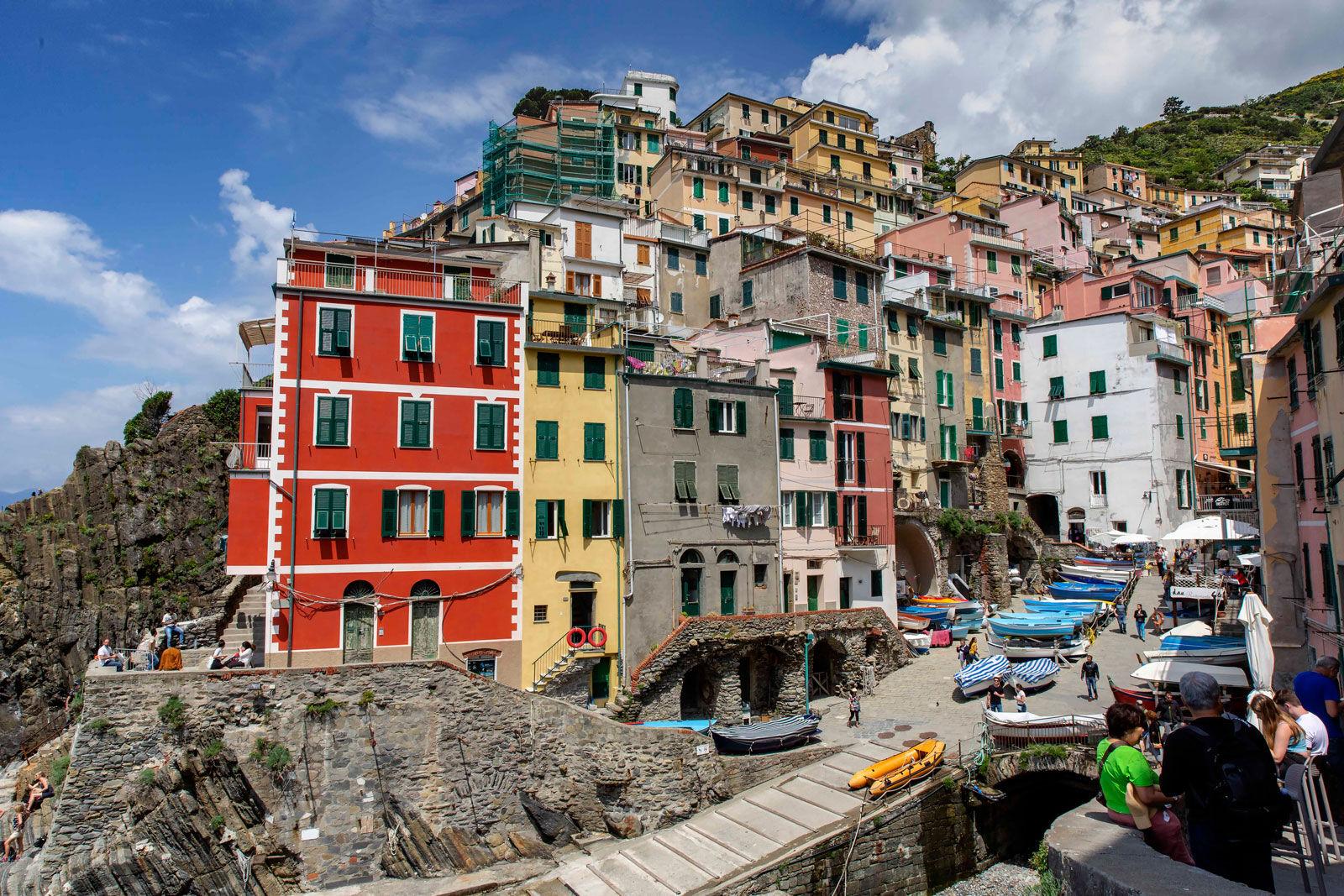 Riomaggiore - A Cinque Port - Italy