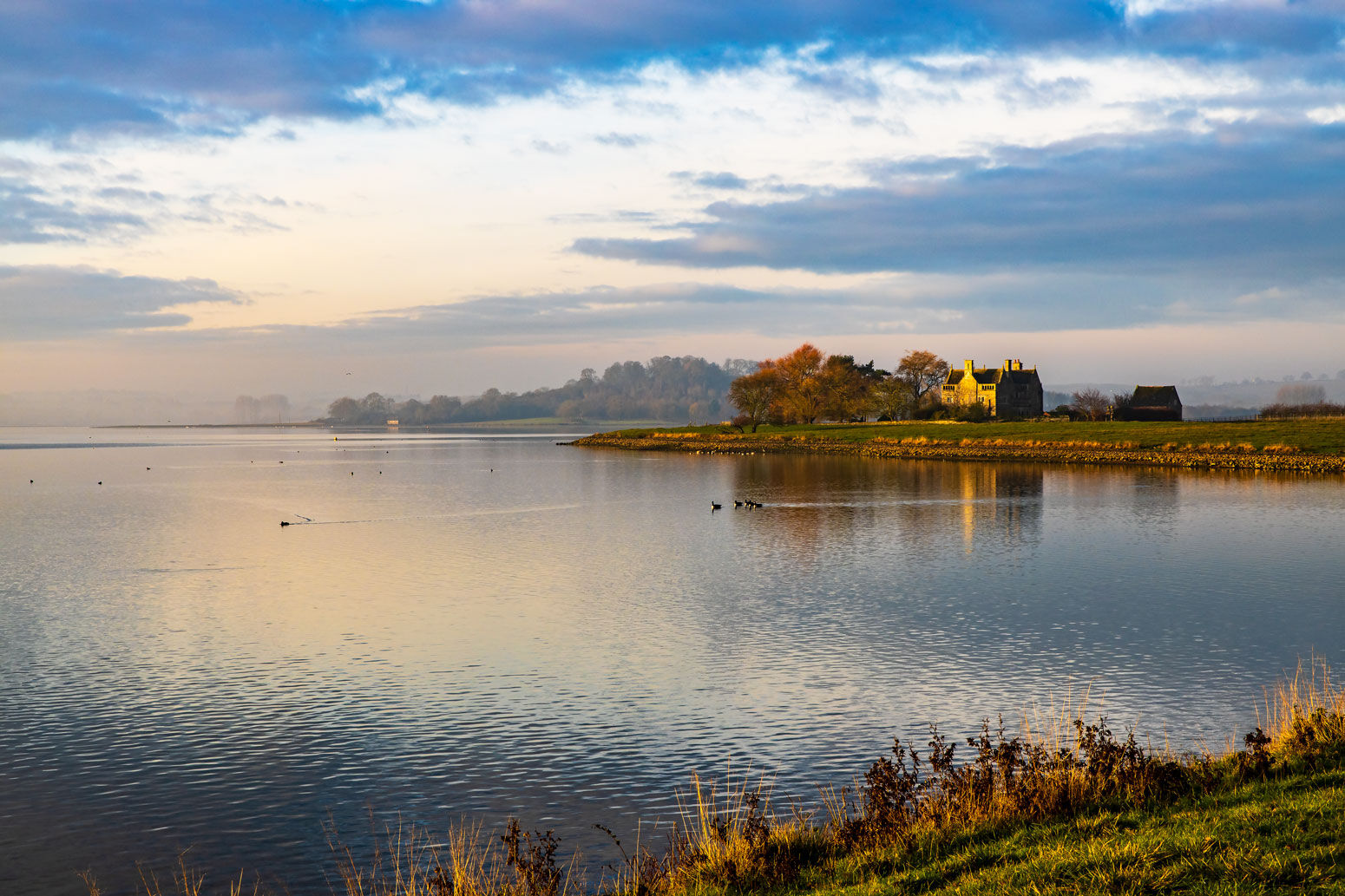 Rutland Water Early Morning