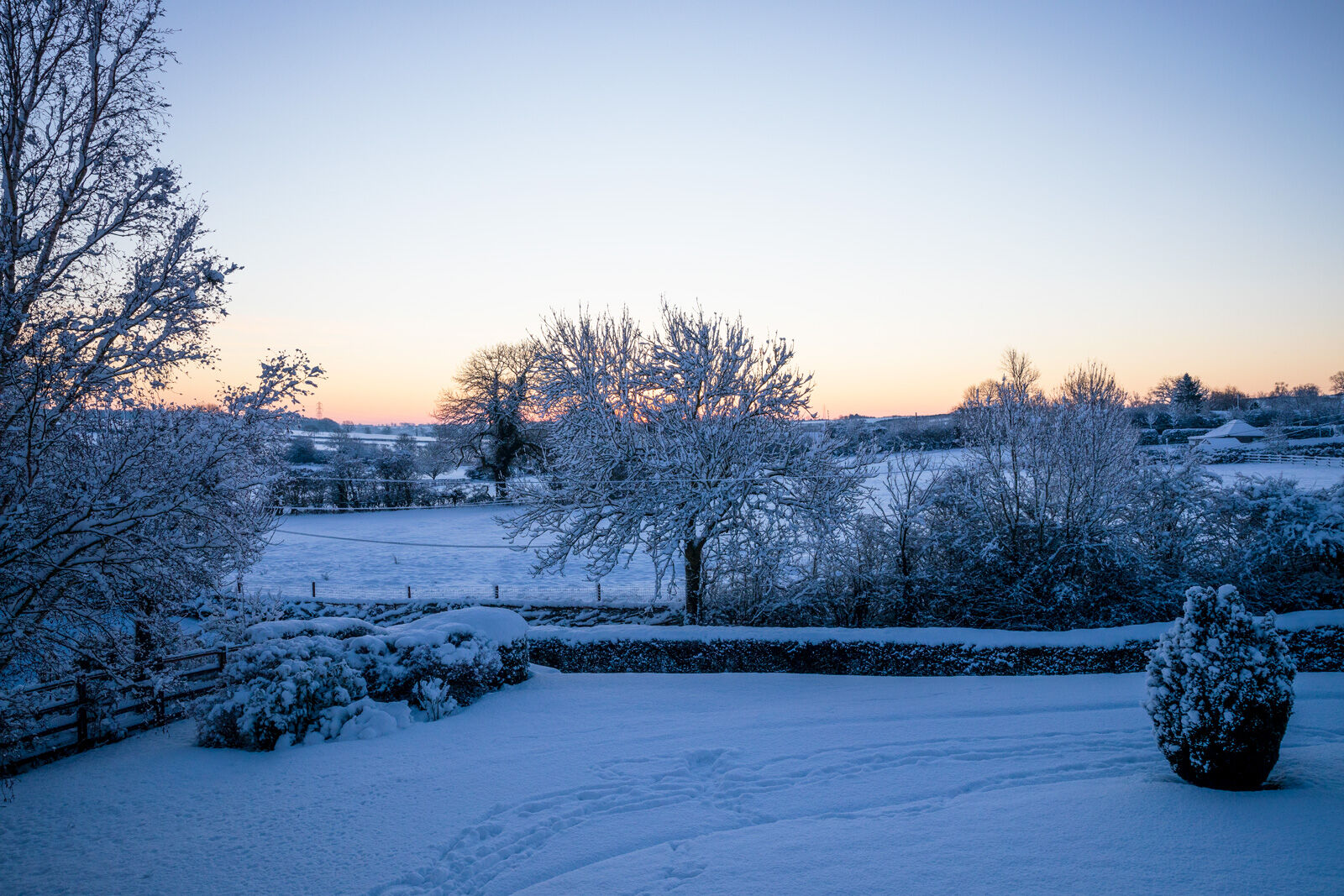 Sunrise & Snow