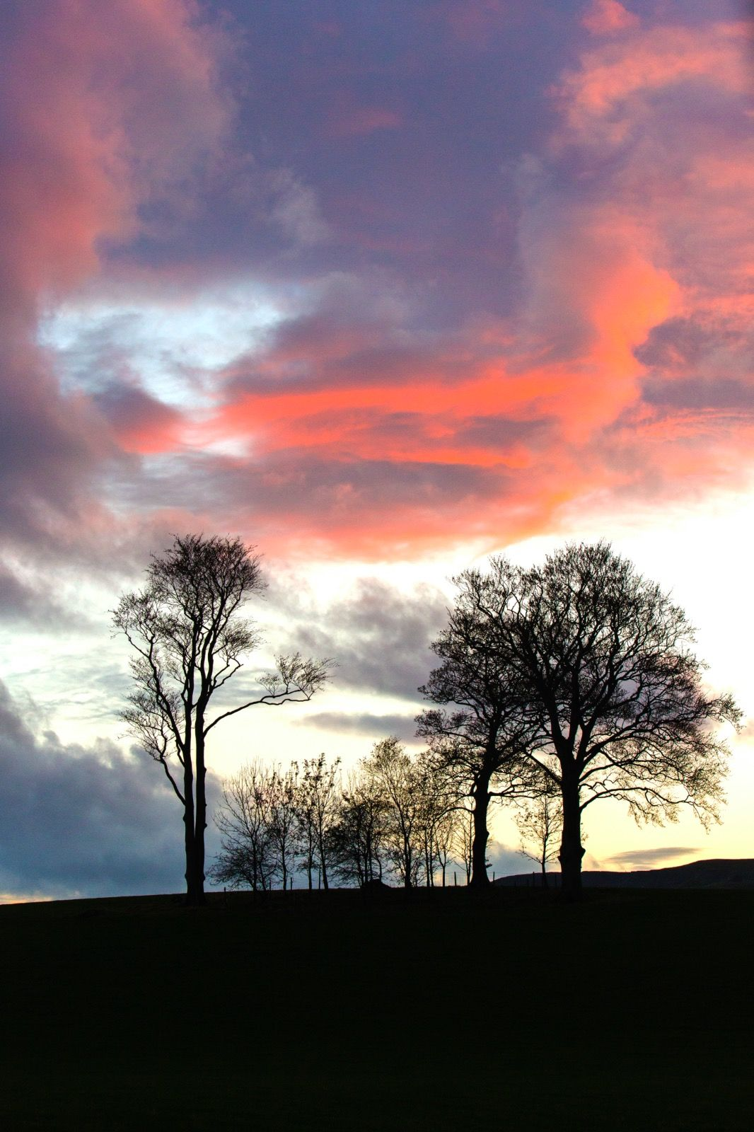 Sunset Ribbersdale - Yorkshire Dales