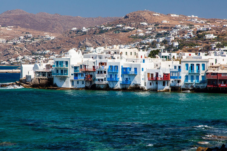 View Mykonos Town
