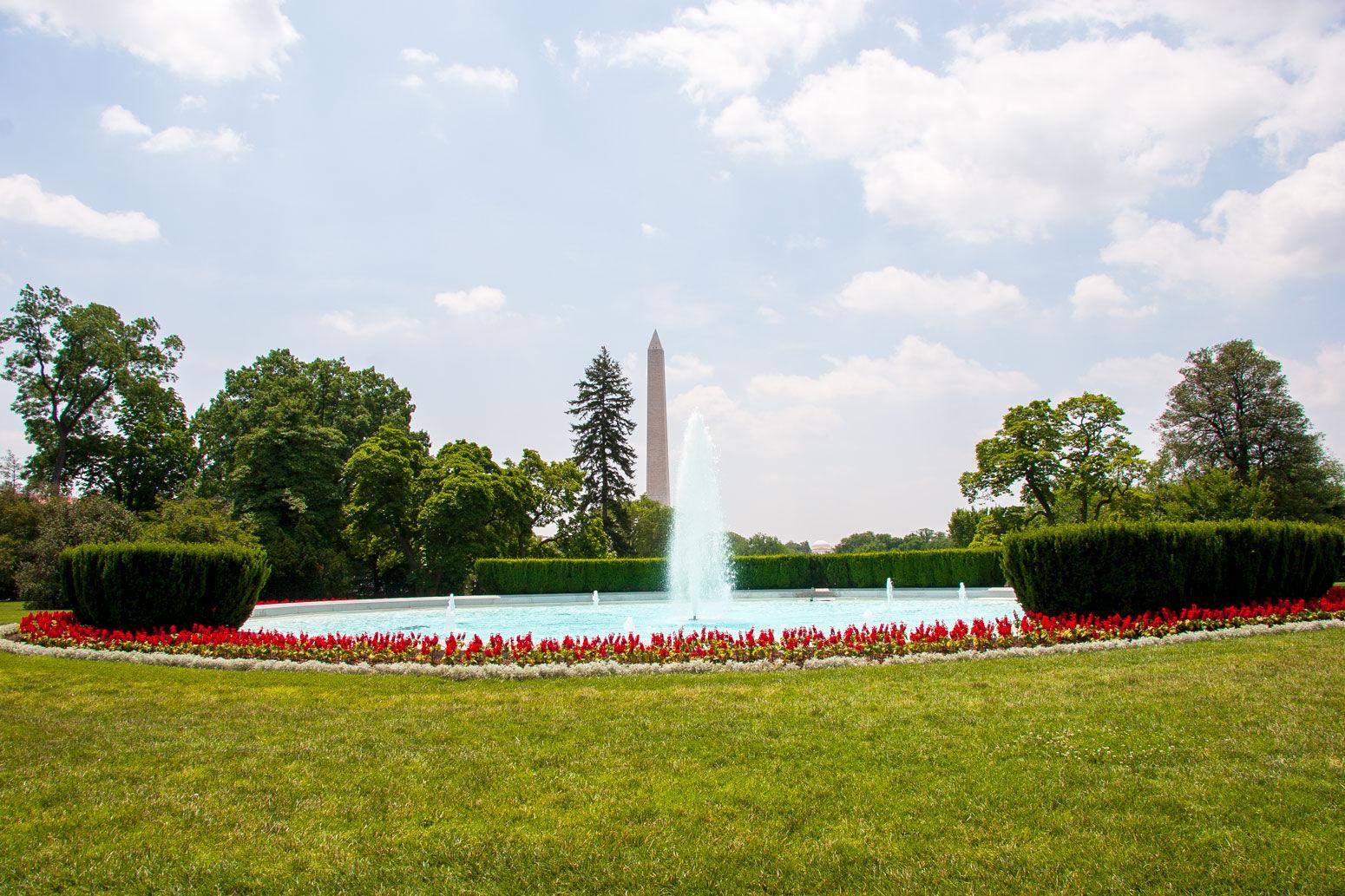 Washington Monument from White House
