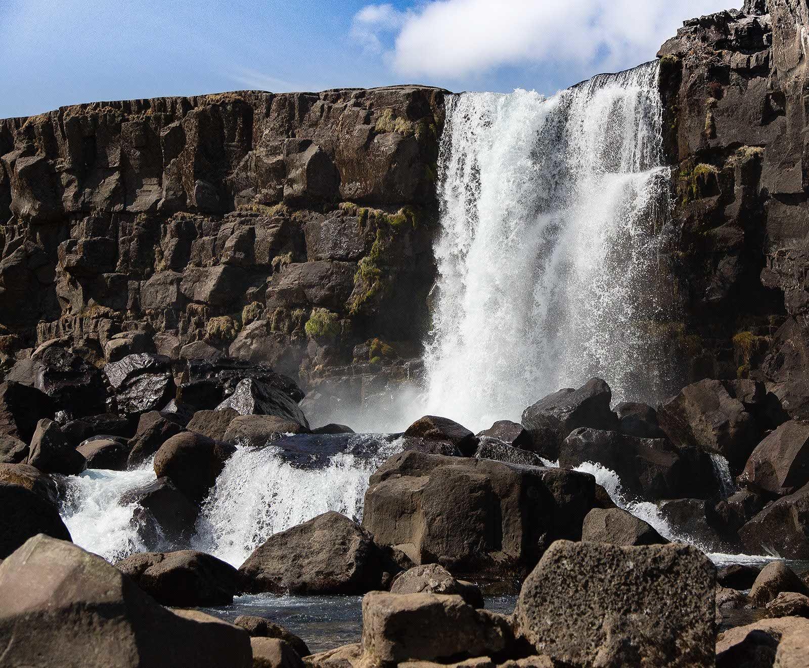 Water Fall THINGVELLIR NATIONAL PARK 2