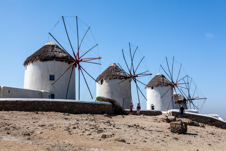 Windmills Mykanos