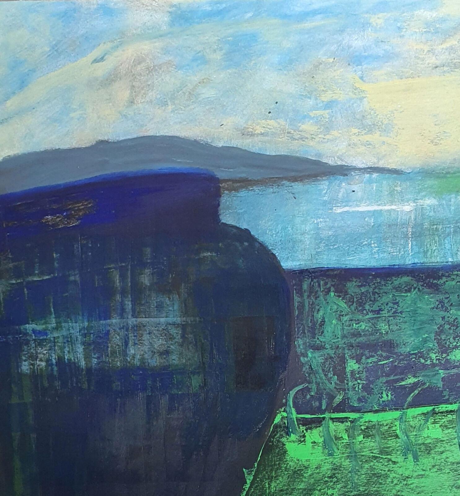 landscape with pot