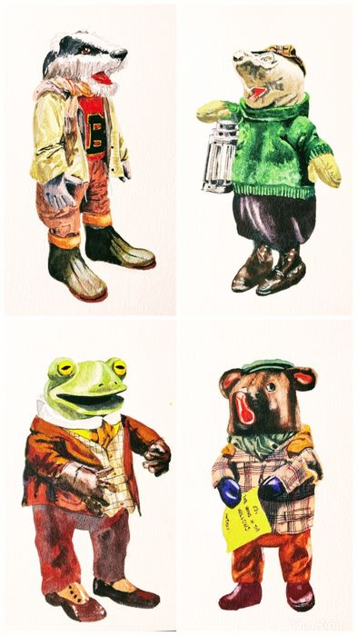 Toad Hall pals