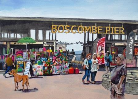 Boscombe pier front